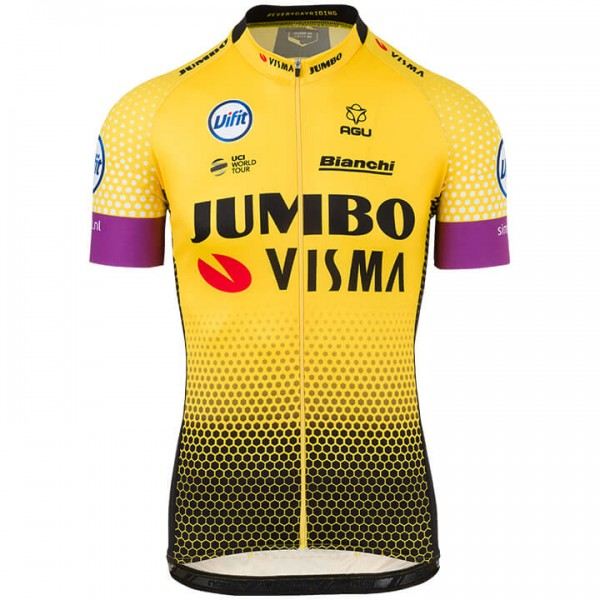 2019 TEAM JUMBO-VISMA Short Sleeve Jersey V2307S5384