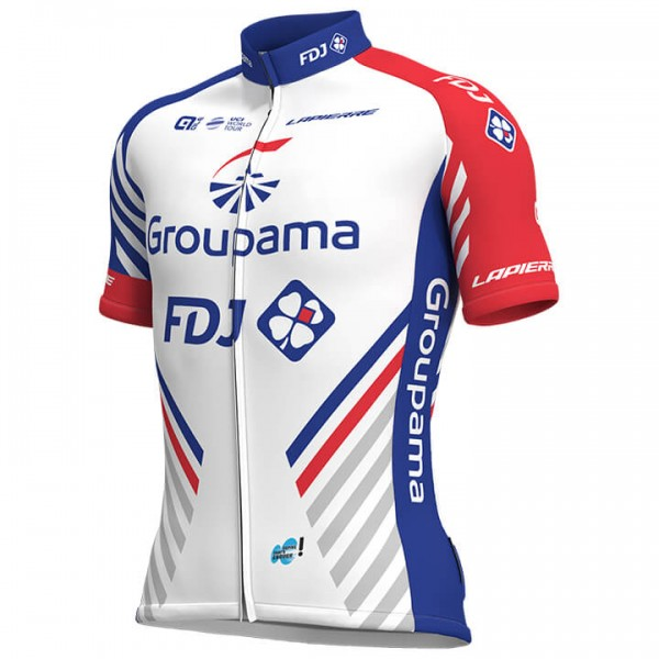 2019 GROUPAMA-FDJ Short Sleeve Jersey N0806I5102