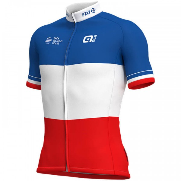2019 GROUPAMA-FDJ French Champion Short Sleeve Jersey E1493M5681
