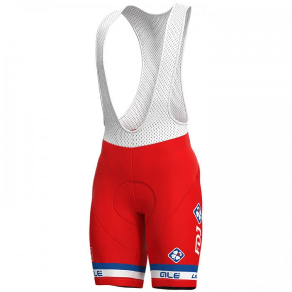 2019 GROUPAMA-FDJ French Champion Bib Shorts S1053P7582