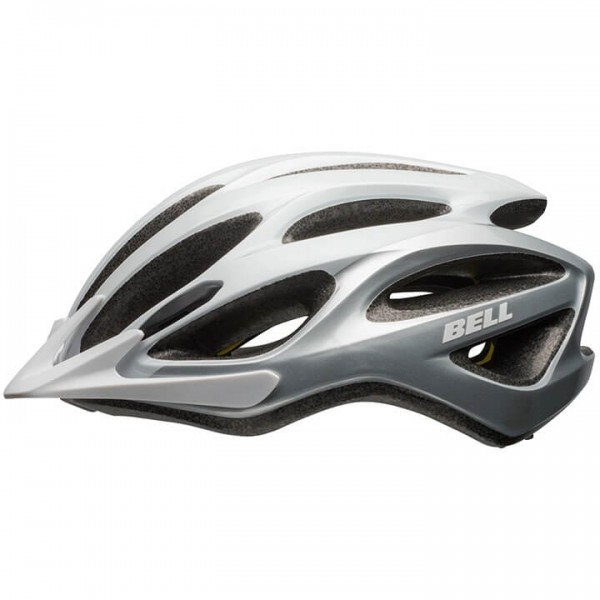 2019 BELL Traverse Cycling Helmet white - silver F9232E3552