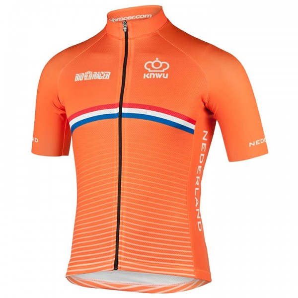 2019 DUTCH NATIONAL TEAM Short Sleeve Jersey X7079E4920