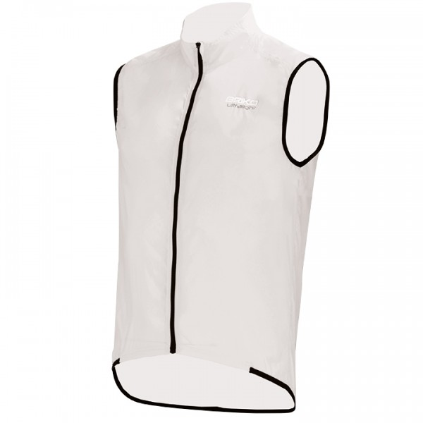 BRIKO Piuma Packable Wind Vest white-black R3810T8342