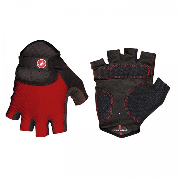 CASTELLI Pista Cycling Gloves, red I2388G8211