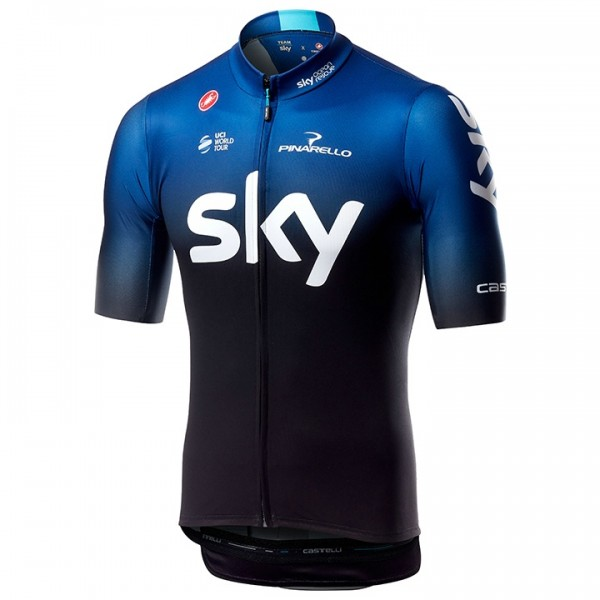 2019 Team Sky Short Sleeve Squadra Jersey X7795L8076