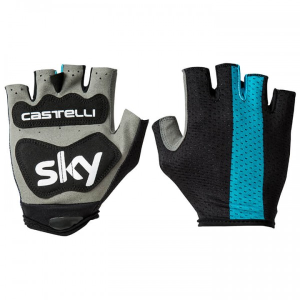 2018 Team Sky Track Cycling Gloves W2668I5623