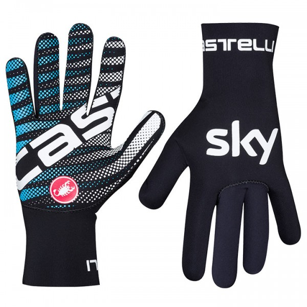 2019 TEAM SKY Winter Cycling Gloves Diluvio N9788V5853