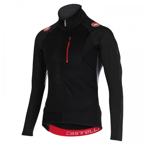 CASTELLI Trasparente 3 Light Jacket, black-charcoal grey W8569O3108