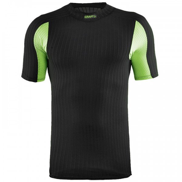 CRAFT Active Extreme 2.0 Base Layer, black-green U6408J8905