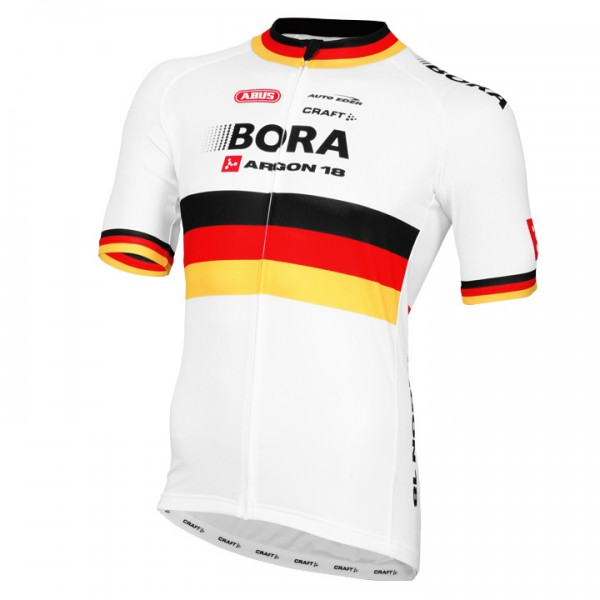 2015-2016 BORA-ARGON 18 Short Sleeve Jersey German Champion M8463H9474