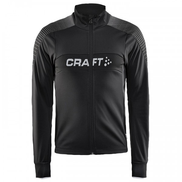 CRAFT Gran Fondo Winter Cycling Jacket, black-white Z2179S4687