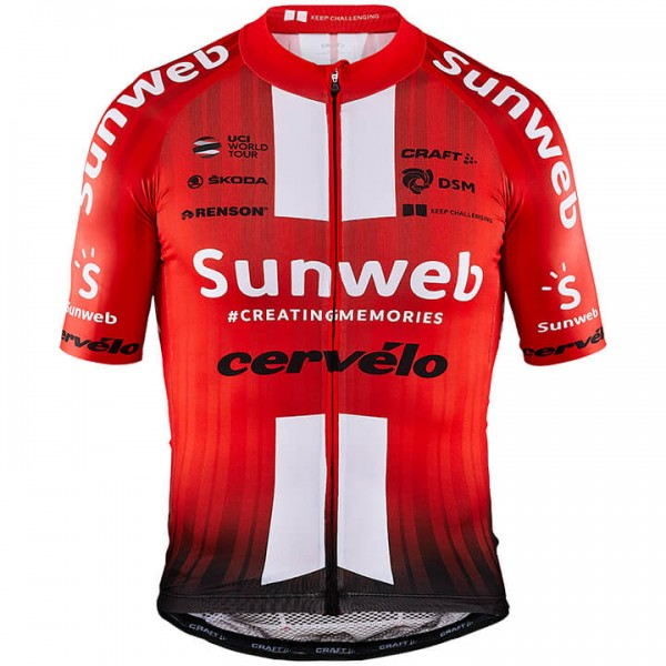 2019 TEAM SUNWEB Aerolight Short Sleeve Jersey E7382E8000