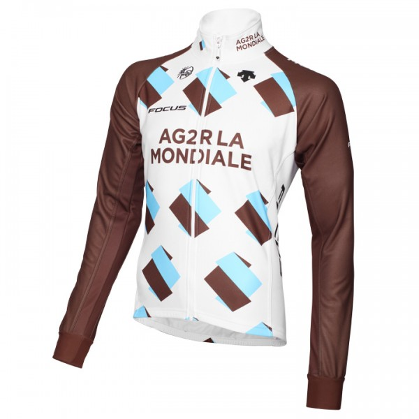 2015 AG2R LA MONDIALE Thermal Jacket U7114L0666