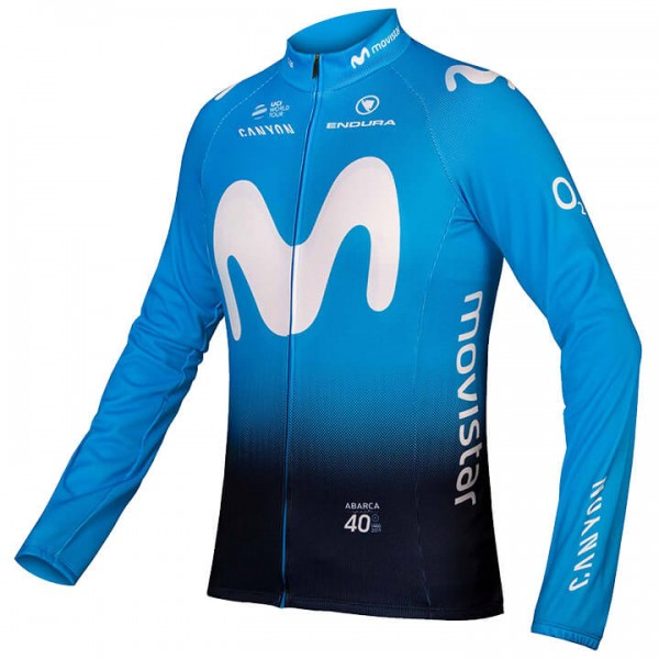 2019 MOVISTAR Team Long Jersey U7598M9644