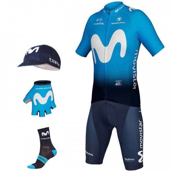 2019 MOVISTAR TEAM Maxi-Set (5 pieces) U3156O4494