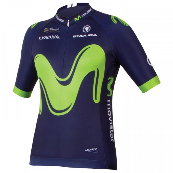 2017 MOVISTAR TEAM Short Sleeve Jersey Z5897B2984