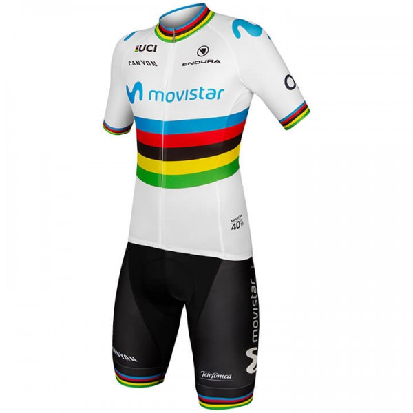 2019 MOVISTAR TEAM World Champion Set (2 pieces) I0737M7872