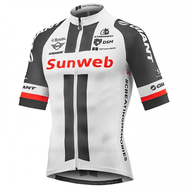 2018 TEAM SUNWEB RACE Short Sleeve Jersey W0977Y8442