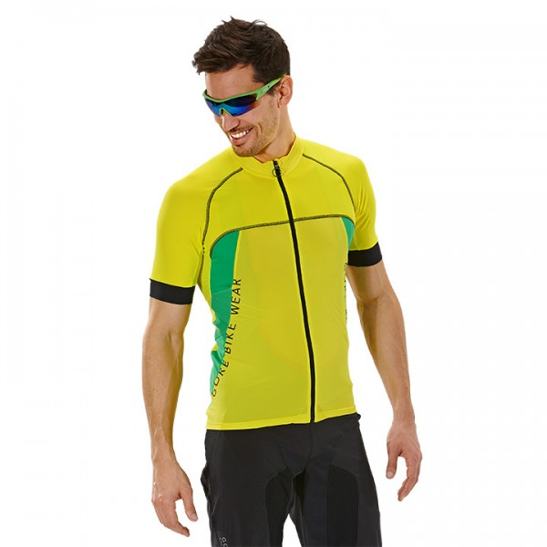 GORE Alp-X Pro Short Sleeve Jersey yellow-green V6501Q9000