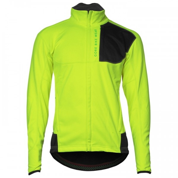 GORE Power Trail WS SO Winter Jacket, neon yellow neon yellow - black U8336V7019