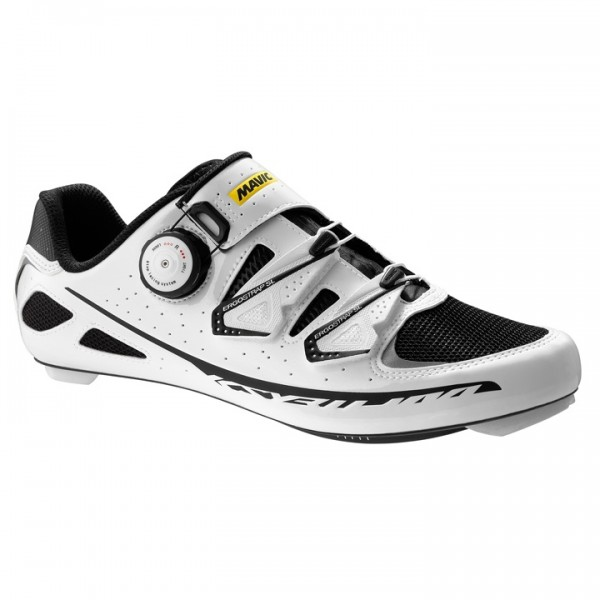 MAVIC Ksyrium Ultimate Road Shoes, white-black E2023X2985