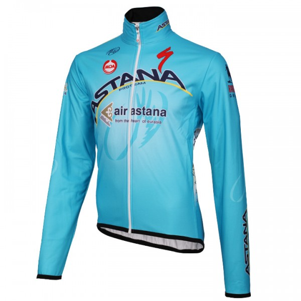 2014 ASTANA PRO TEAM Thermal Jacket P2808W2118