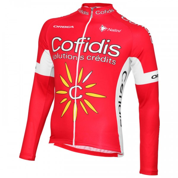 2015 COFIDIS Long Sleeve Jersey C9882C6177