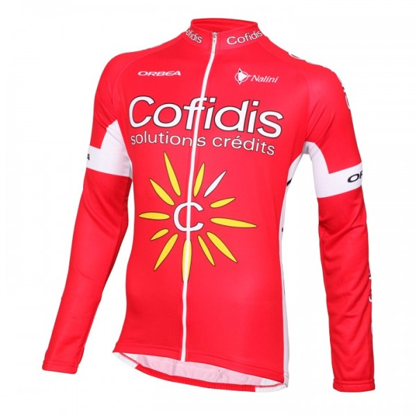 2016 COFIDIS Long Sleeve Jersey W2455U8062