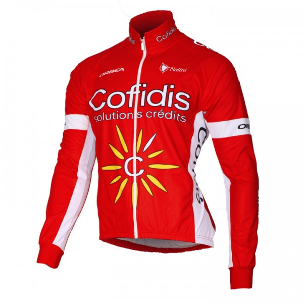 2016 COFIDIS SOLUTION CREDITS Thermal Jacket H0325Y6181