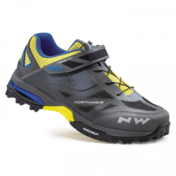 NORTHWAVE Enduro MTB Shoes, charcoal grey-neon yellow Y6257M9574