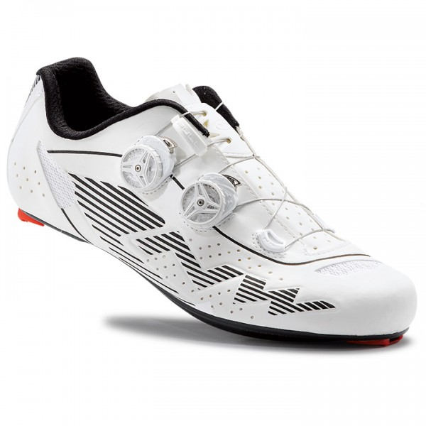 2017 NORTHWAVE Evolution Plus Road Shoes, white reflective white H0213A3381