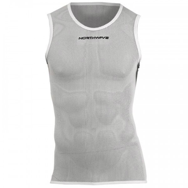 NORTHWAVE Light Sleeveless Base Layer, white A5966H5094