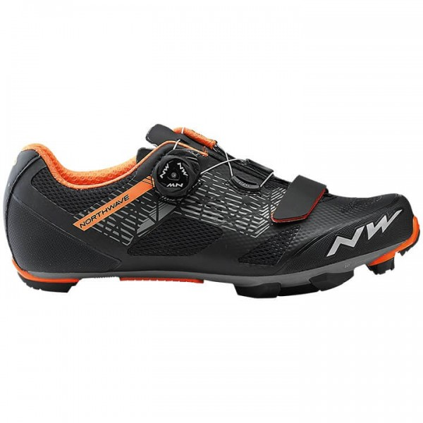 2019 NORTHWAVE Razer MTB Shoes black - orange O5423R9351