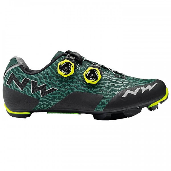NORTHWAVE Rebel MTB Shoes neon yellow - green B0998A9418