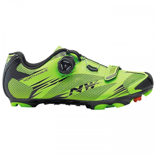 NORTHWAVE Scorpius 2 Plus MTB Shoes black - green F9828Z2835