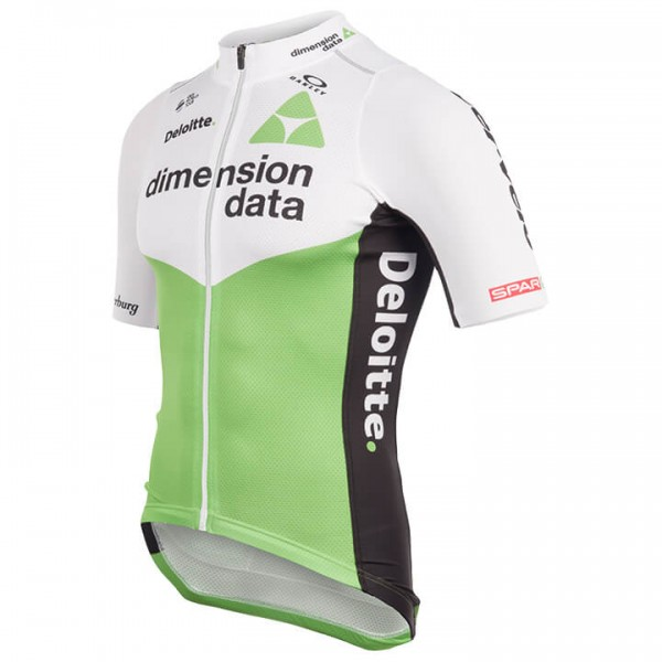 2018 TEAM DIMENSION DATA Race Short Sleeve Jersey Y0575P4964