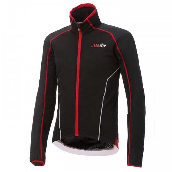 RH+ Alpha Cycling Jacket black - red X9404B8146