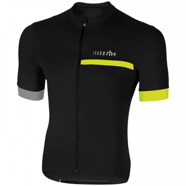 rh+ Prime Short Sleeve Jersey neon yellow - black U6187E9825