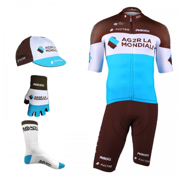 2018 AG2R LA MONDIALE Pro Race Maxi-Set (5 pieces) M9643Q6719