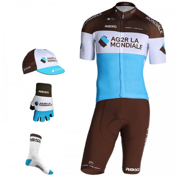 2019 AG2R LA MONDIALE Pro Race Maxi-Set (5 pieces) D1669C0717