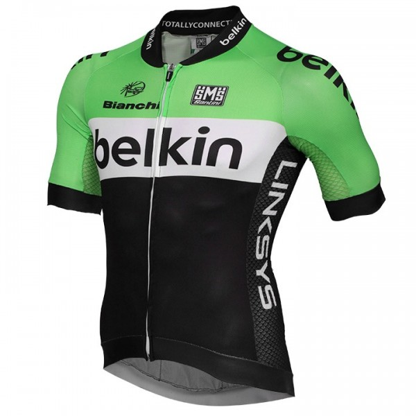 2014 BELKIN PRO CYCLING Short Sleeve Jersey Aero Race T0981K2219