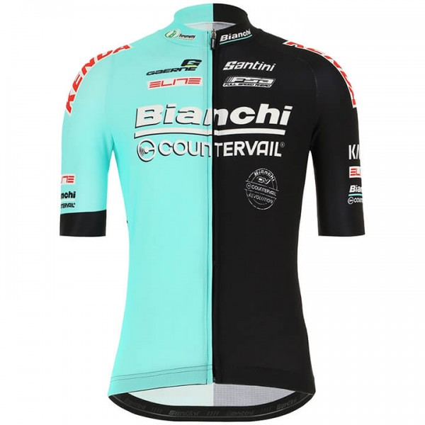 2019 BIANCHI COUNTERVAIL Short Sleeve Jersey X2617A7861