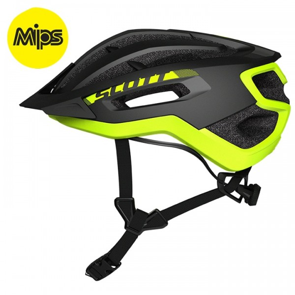 2019 SCOTT Fuga Plus REV Cycling Helmet neon yellow - black I2151W5880