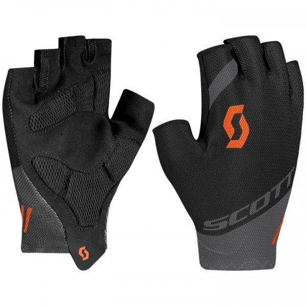 SCOTT RC Team Gloves grey - black H4782V2044