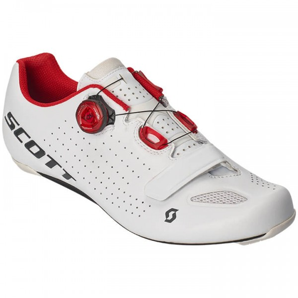 2019 SCOTT Vertic Boa Road Bike Shoes white - red X8991Q2354