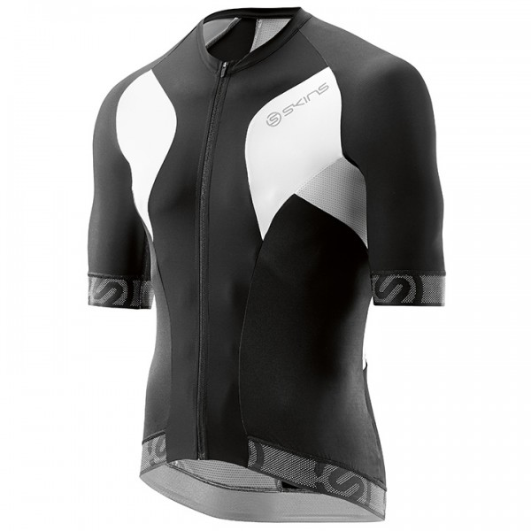 SKINS Tremola Due Short Sleeve Jersey, black-white G8958Q8965