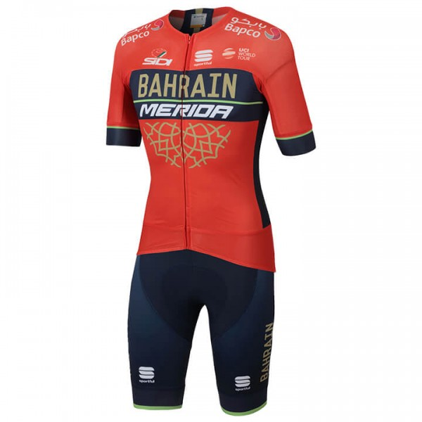 2018 BAHRAIN - MERIDA Pro Race Set (2 pieces) P4921A3910