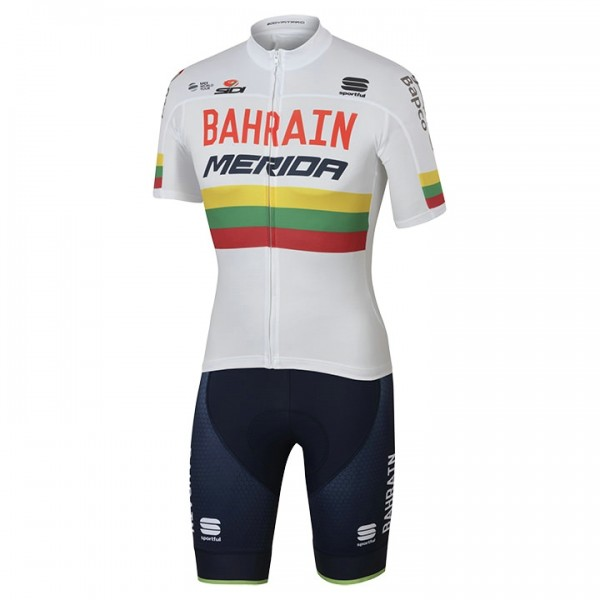 2017 BAHRAIN-MERIDA Set (2 pieces) Lithuanian Champion D0827G0065