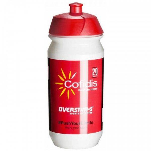 2019 TACX 500 ml Cofidis Solutions Credits Water Bottle M0547Y5850