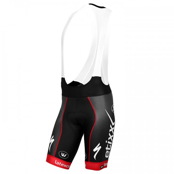 2016 ETIXX-QUICK STEP Bib Shorts PRR LTD Edition red U9580Z7336
